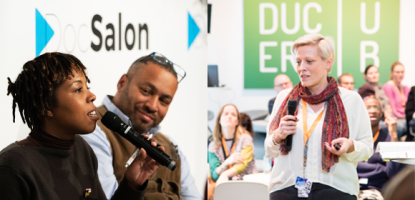 EFM's DocSalon & Producers Hub return with relevant topics and exciting collaborations at the Gropius Bau. © EFM 2019 / Juli Eirich, Lia Darjes